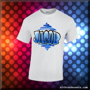 Custom Airbrush T-Shirts | Party Favors