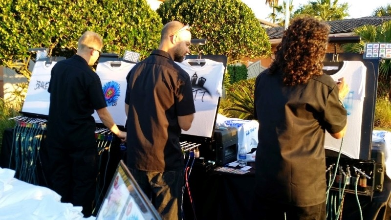 Events Airbrush Artist Entertainment and Brand Activation