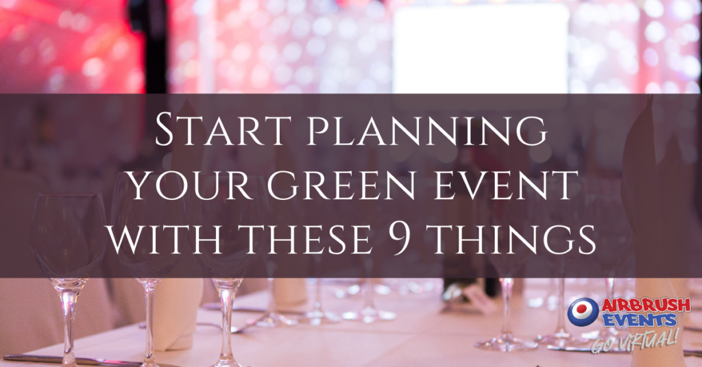 Start Planning Your Green Event With These 9 Things (featured)